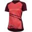 PEARL iZUMi Launch Short Sleeve Jersey Women cayenne/port vista